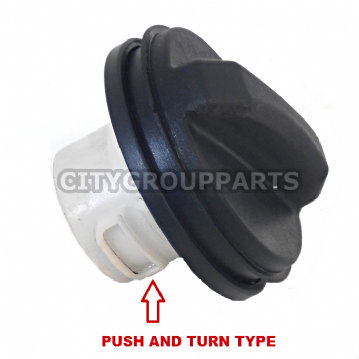 JAGUAR X & S TYPE / XF / XK / XJ X350 PETROL FUEL CAP PUSH & QUARTER TURN TYPE